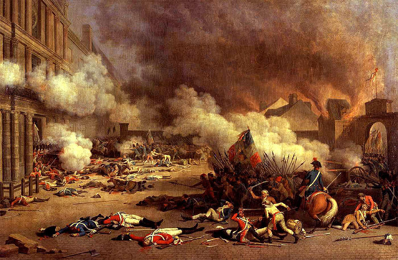 The Storming of the Tuileries
