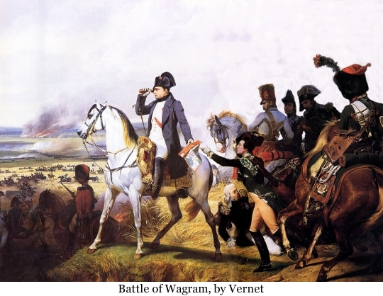 Napoleon at Wagram, by Horace Vernet